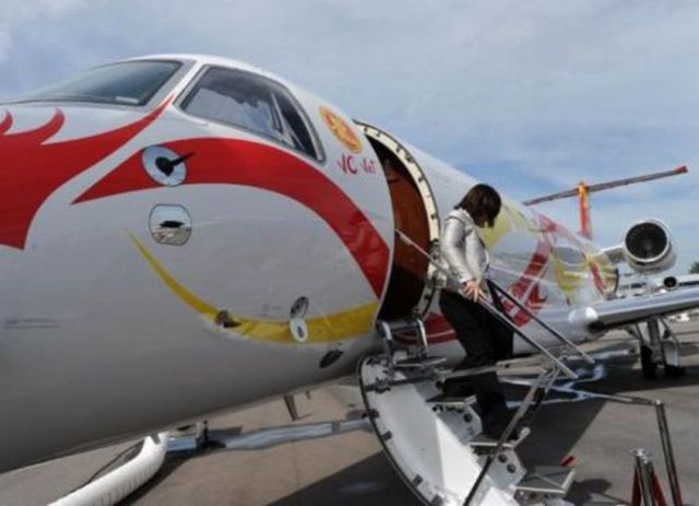 Jackie Chan's New Private Plane