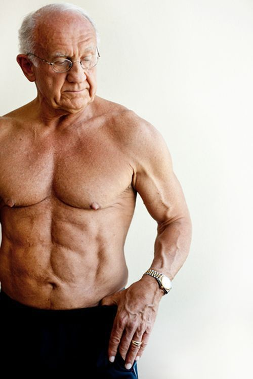 Could You Ever Think That He is 72?