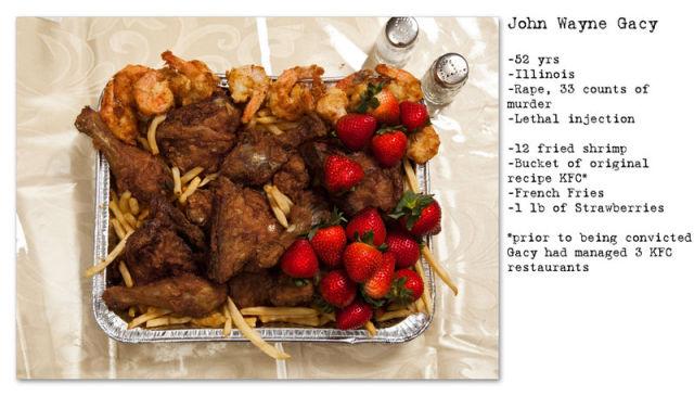 Last Meals of Grievous Murderers