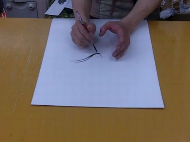 Japanese Dragon Painter's Awesome Technique