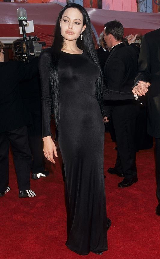 Angelina Jolie's Oscar Outfits Through the Years