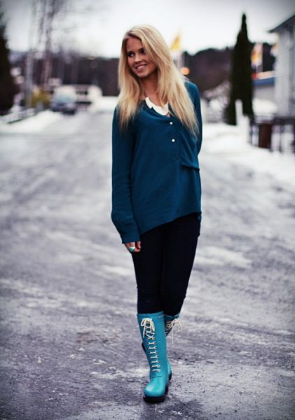 Beautiful Norwegian Blogger