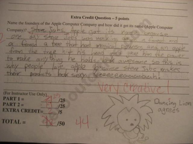 Hilarious Exam Answers. Part 2