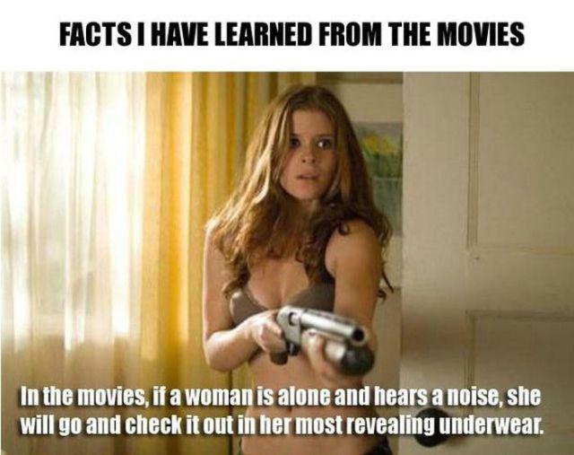 Things That Movies Teach Us