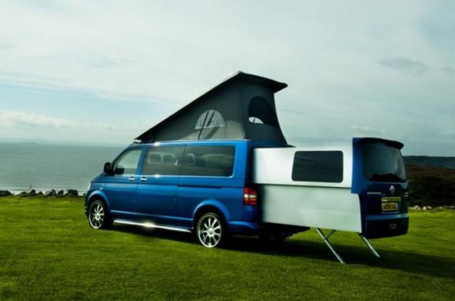 doubleback vw campervan 7 pics 1 video. Black Bedroom Furniture Sets. Home Design Ideas