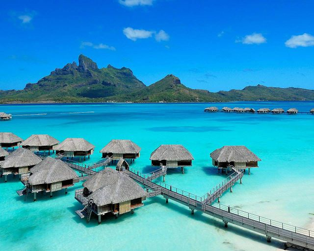 Marvelous Four Seasons Bora Bora
