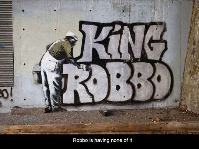 Robbo vs. Banksy Graffiti Face-Off