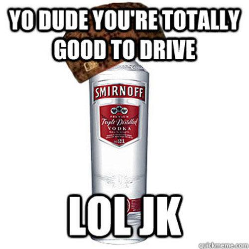 Hilarious Scumbag Alcohol Memes