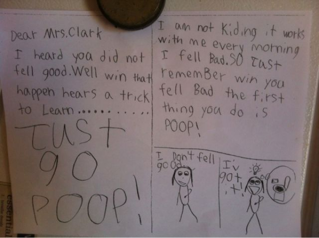 The Funniest Kids' Notes