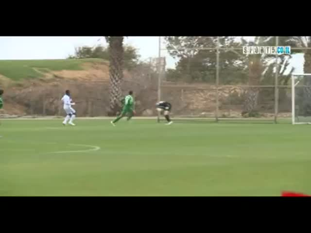 Poor Goalkeeper Didn't See It Coming