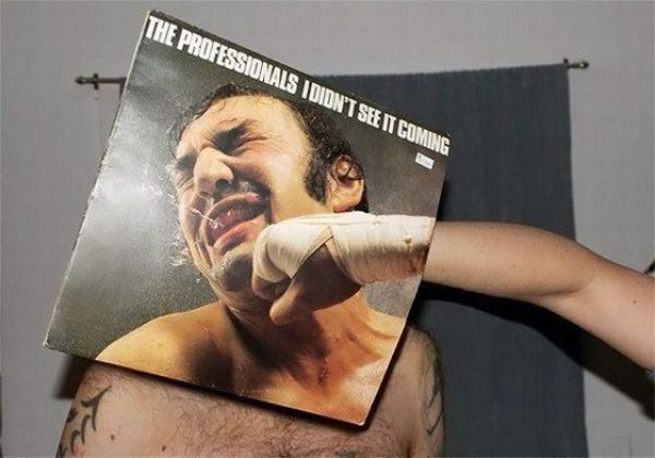 When Album Covers Meet Reality