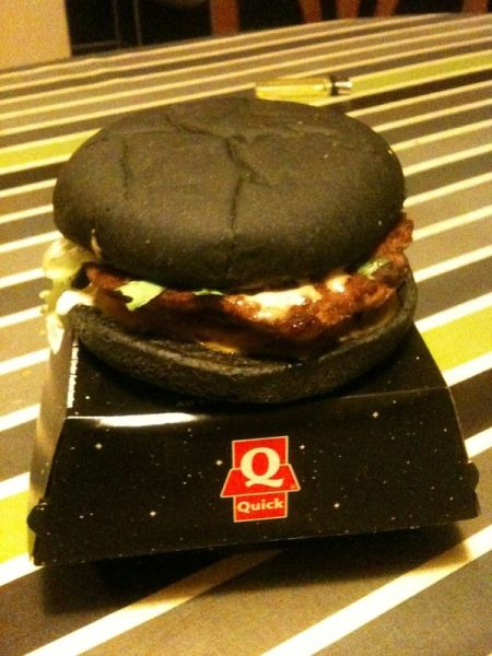 Dark Vador Black Burger
