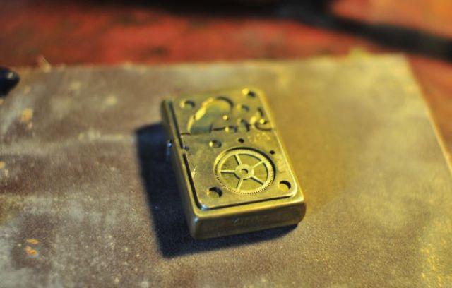 DIY Steampunk Zippo