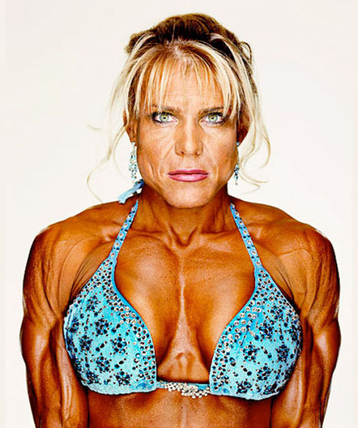 Female Bodybuilders Close-Ups
