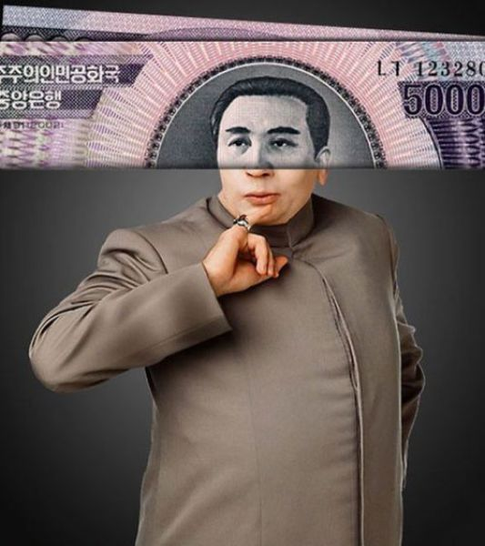 Funny Celebrity Banknotes