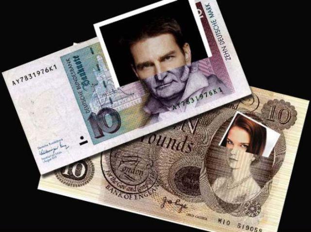 Funny Celebrity Banknotes