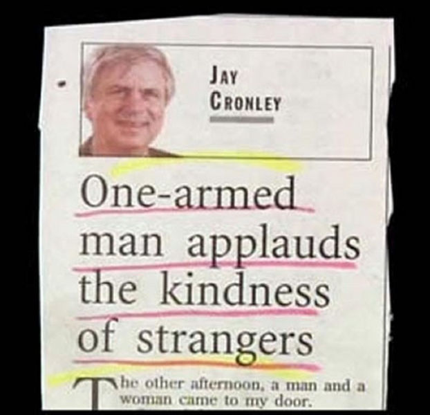 Wacky Newspaper Headlines