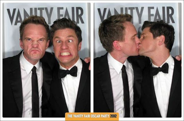 Celebs at Vanity Fair Oscar Party 2012