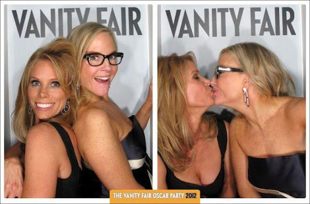 Celebs at Vanity Fair Oscar Party 2012