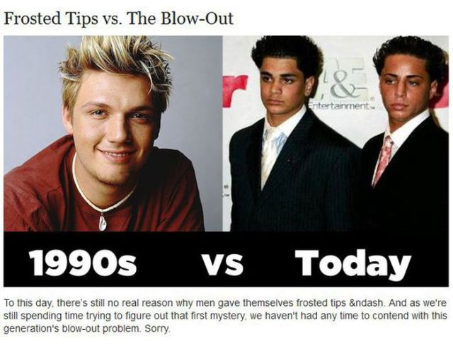 Cool Things in 90s vs. Cool Things Today