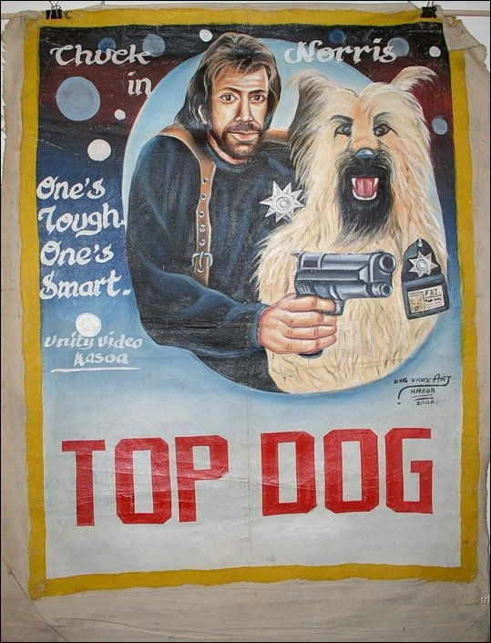 Funnily Painted Movie Posters