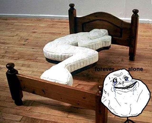 Unfortunately, Forever Alone