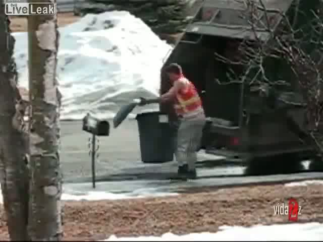 Garbageman Goes Nuts