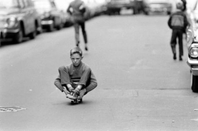 NYC Skateboarding in 1960