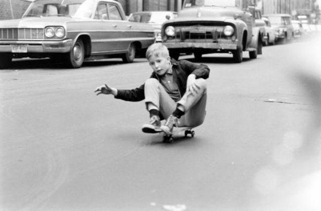 NYC Skateboarding in 1960