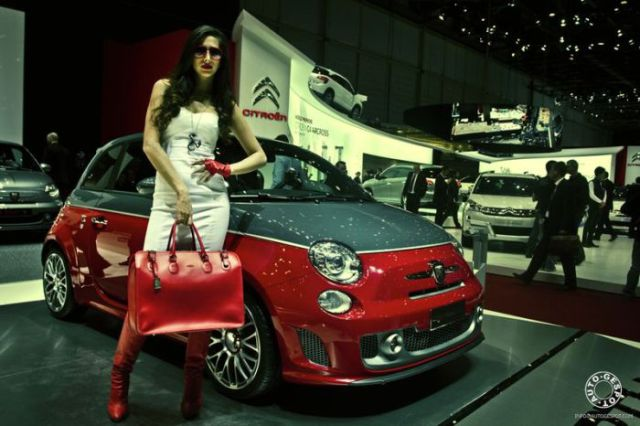 Geneva Motor Show Beauties. Part 2