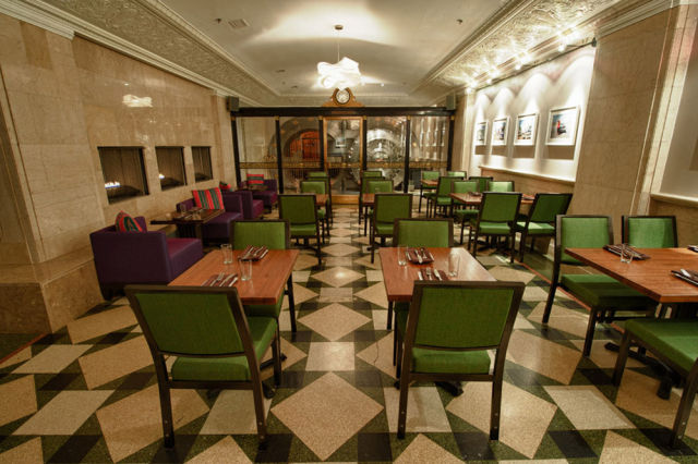 Retro-Style Supper Club in the Bank Vault Room