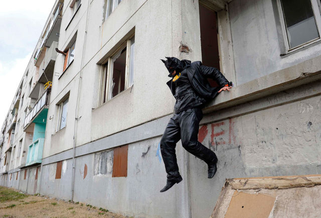 Slovak Batman is Ready to Rescue