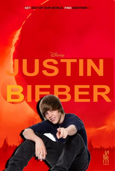 New movie, Bieber OUT