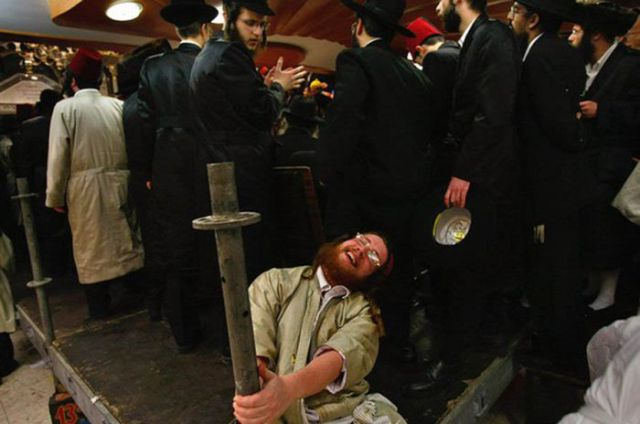 Purim Binge Drinking