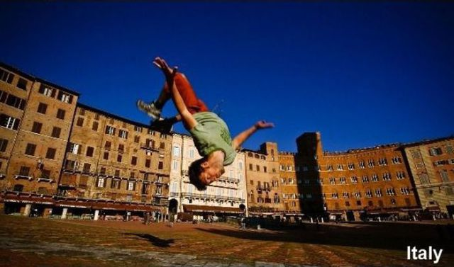 He Jumps All Over the World