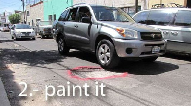 How to Get Rid of the Potholes