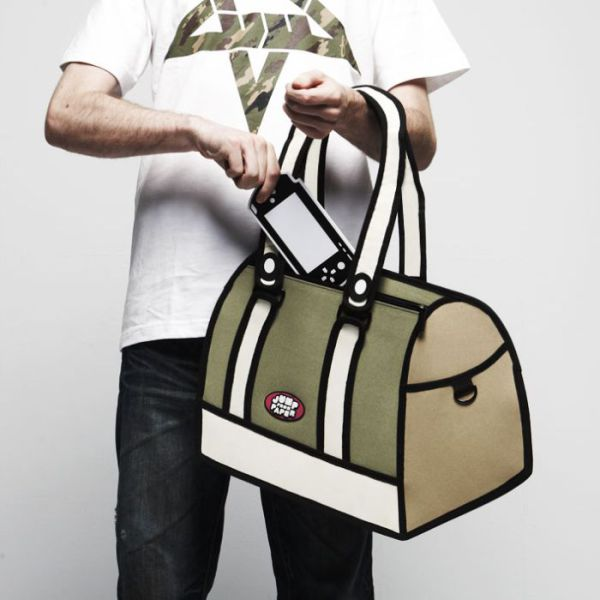 Fantastic Comic Strip Bags