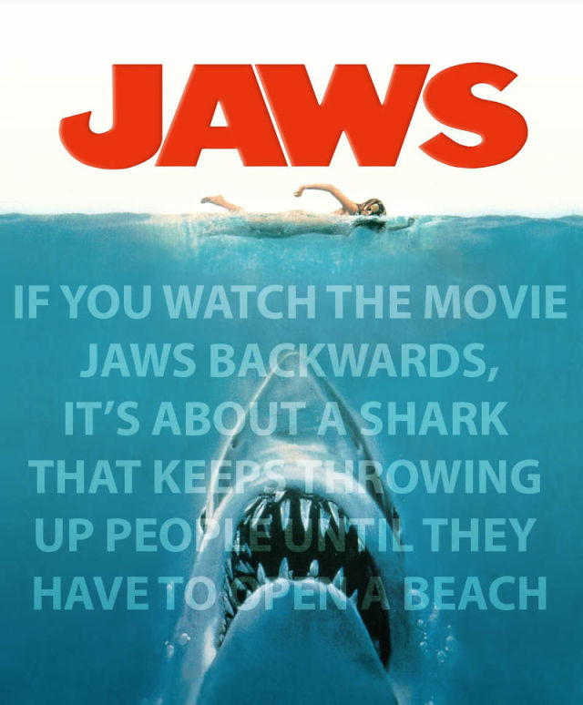 Some Movies Should Be Watched Backwards