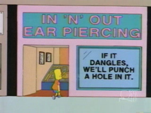 Witty Signboards from The Simpsons