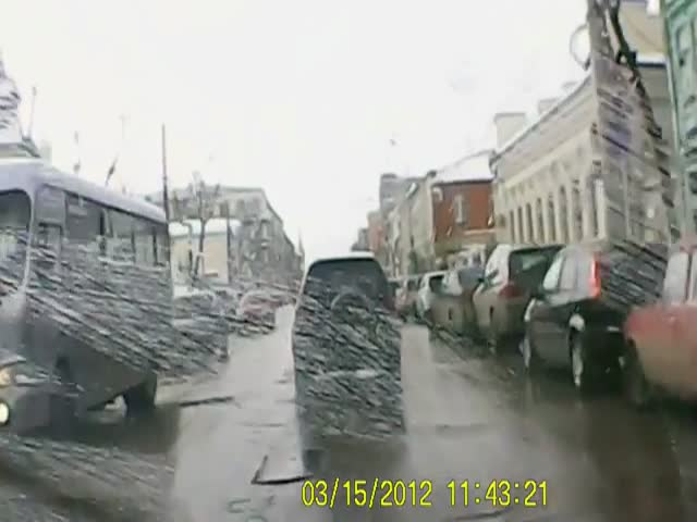 Nothing Beats Russian Potholes!