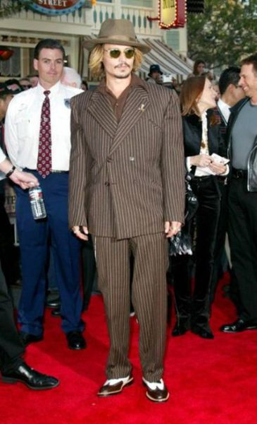 Johnny Depp's Fashion Trends Since 1994