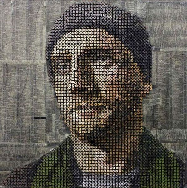 Portraits Made of Screws