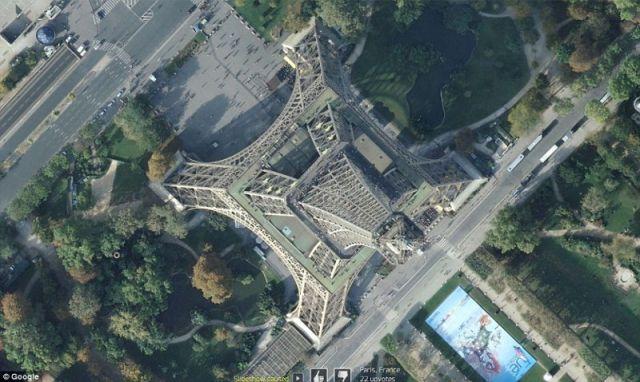 Spectacular Google Earth Aerial Photos