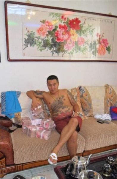 Chinese Mobster Phone Camera Pictures