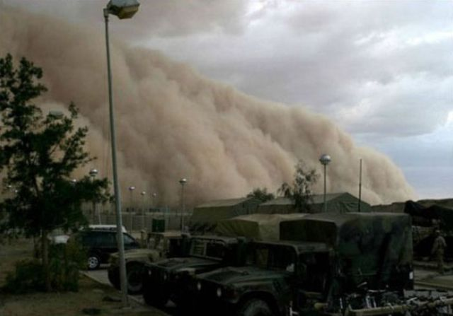 Sandstorm in Kuwait