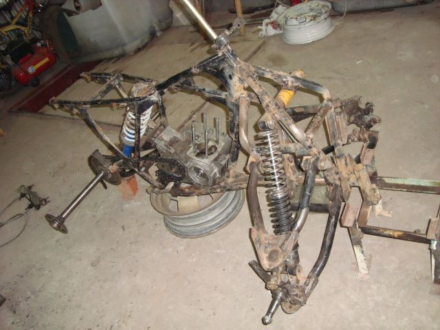 Scrap Metal Becomes ATV