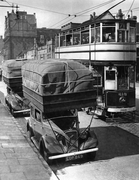 Unconventional Retro Vehicles
