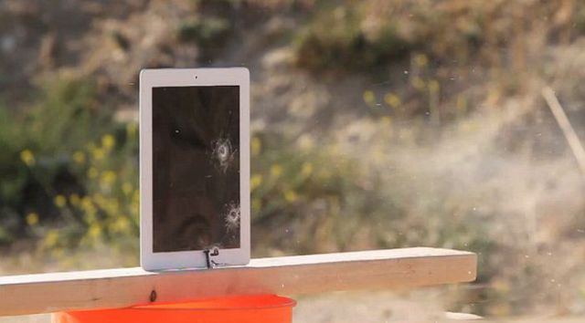 How Will the New iPad Deal With Bullets?