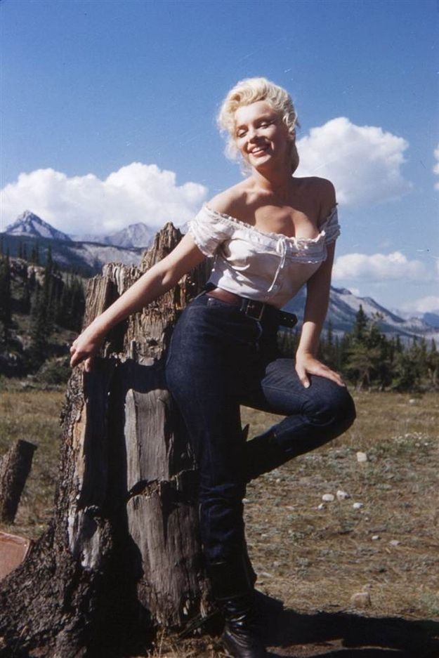 Rare and Candid Marilyn Monroe Pictures