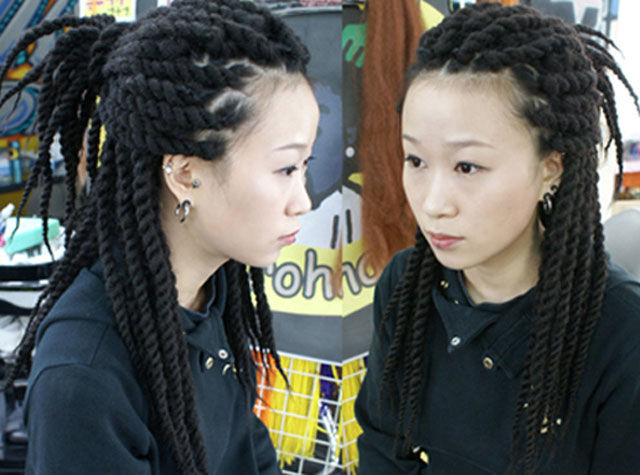 Freakish Asian Hairstyles